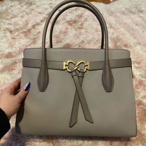 Kate spade Toujours large taupe satchel